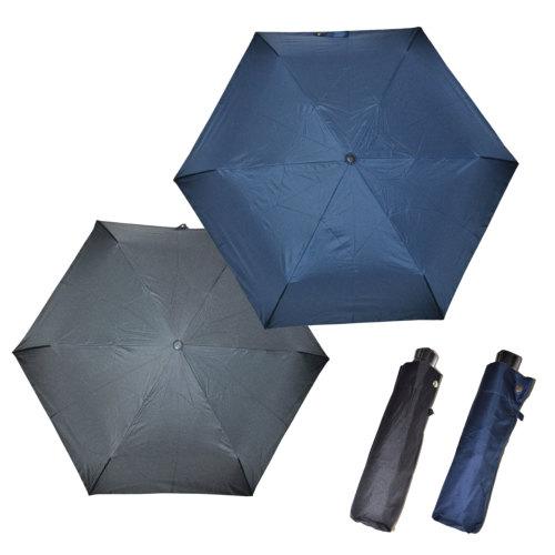 折りたたみ傘 紺・黒