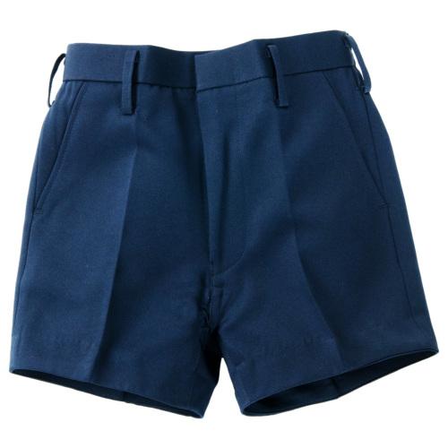 お受験紺色3分丈半ズボン