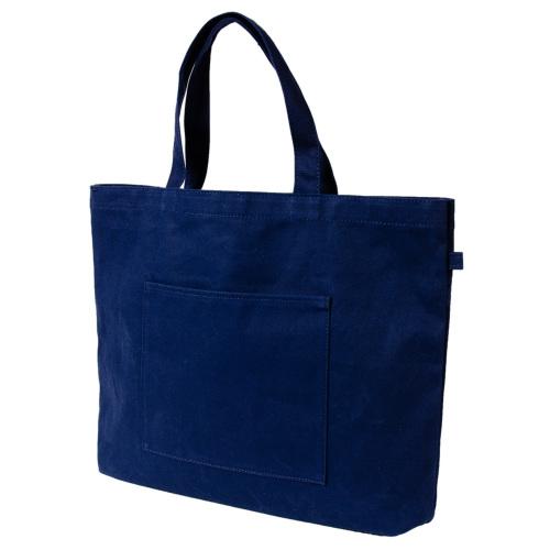 紺色布製・レッスンバッグ【大・お道具箱サイズ】