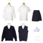 女の子用 中学校受験服セット