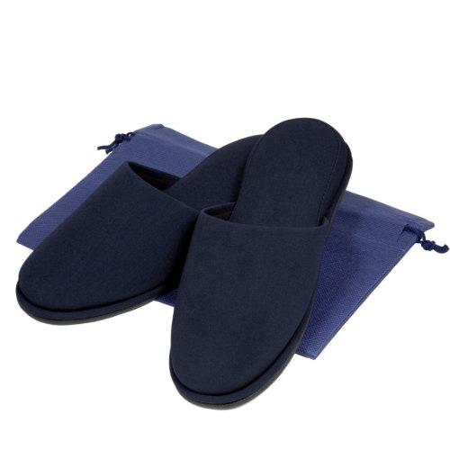 お父様用布製スタンダードスリッパ【紺】