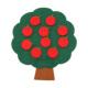 手作りフェルト教材【リンゴの木】