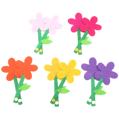 手作りフェルト教材【お花】