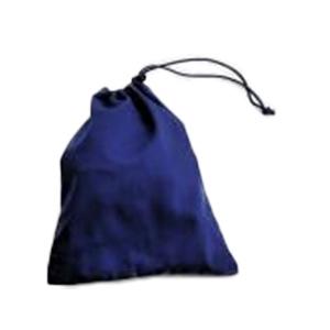 布製・紺色巾着袋【中】