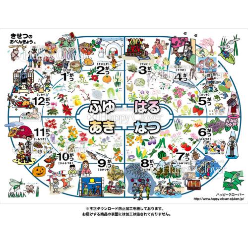 季節のパズル