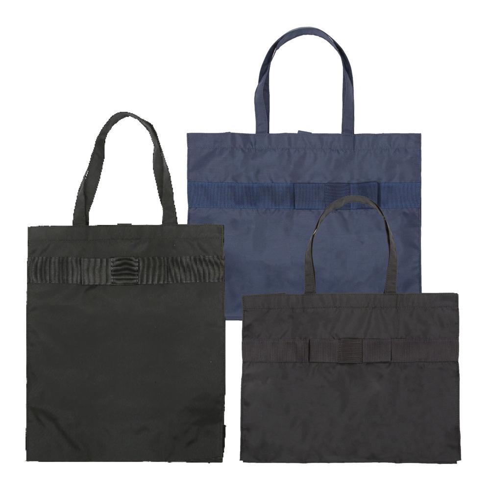 書類配布されたときのちょうどいいエコバッグが欲しい!というお客様のお声から商品にいたしました。
