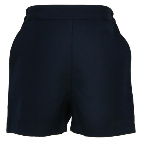 【紺色無地】後ろゴム半ズボン