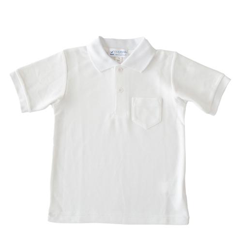 お子様用半袖かのこポロシャツ【白】