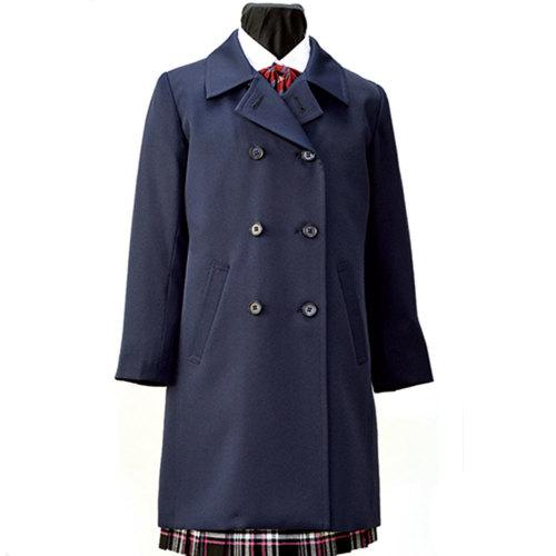 ジュニアライナー付きレインコート兼用冬用コート